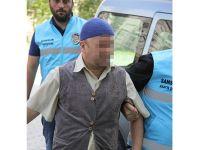 Tacizden gözaltına alınan medyum adliyeye sevk edildi
