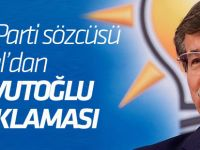 Mahir Ünal'dan Davutoğlu açıklaması