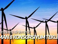 Rüzgar enerjisi kriz dinlemedi! Dünya ilk 10'undaki 4'ü Alman 8 konsorsiyum teklif verdi...