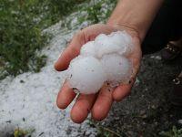 Edirne'de sağanak yağış ve dolu olumsuz etkiledi