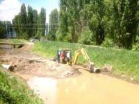 Seydişehir'e sulama göleti çalışmaları