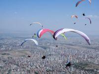 Ali Dağı Kupası'nın 2. gününde 96 kilometrelik uçuş yapıldı