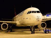 Doludan burnu hasar gören uçak İstanbul'a döndü