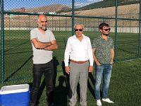 Mehmet Güney Erzurum kampını ziyaret etti