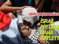 İsrail askerleri Batı Şeria'da bir Filistinliyi  daha katletti