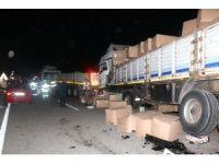 Kütahya'da zincirleme trafik kazası: 1 ölü, 4 yaralı