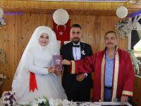 Hülya ile Mahir evlendi