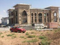 Oba Beyler Konağı inşaatı hızla devam ediyor