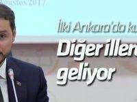 """Enerji Bakanı Albayrak: """"Yenilenebilir enerji okulu dünyada örnek gösterilecek"""""""