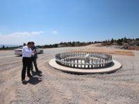 Beyşehir'de rüzgar türbini enerji santrali kuruluyor