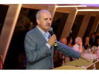 Kurtulmuş, Üsküdar Valide Sultan Gemisi Boğaz Turu'na katıldı