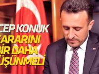 Mehmet Oğuz: Pankobirlik Genel Başkanı Konuk, kararını tekrar düşünmeli