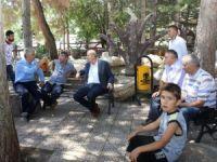 Milletvekili Kaleli, Bozkır'da vatandaşlarla buluştu
