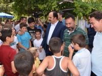 Başkan Altay Bedir Mahallesi'nde 'Cuma Buluşması'na katıldı