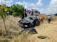 Konya'da Tatil dönüşü kaza: 2 ağır yaralı