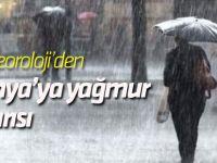 Konya'ya yağmur uyarısı