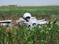 ABD'nin insansız hava aracı  Mısır tarlasına  düştü