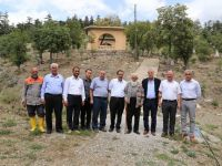Milletvekili Kaleli Hadim'de vatandaşlarla buluştu