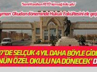 'FETÖ'cüler Süleyman Okudan döneminde Hukuk Fakültesini ele geçirdi'