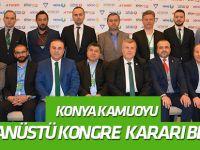 Konya kamuoyu Konyaspor yönetiminden acilen olağanüstü kongre kararı bekliyor