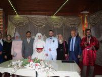 Büşra ile Ahmet evlendiler