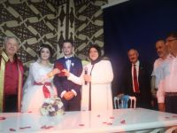 Ümmühan İle Fatih mutluluga evlendi