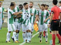 Konyaspor'da futbolcular mutlu ve inançlı
