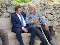 Kaymakam Cıdıroğlu'nun mahalle ziyaretleri
