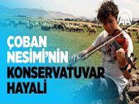 Tatillerde çobanlık yapan Nesimi'nin konservatuvar hayali VİDEO HABER