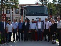 Ilgın Belediyesine çöp kamyonu desteği