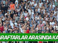 Beşiktaş-Atiker Konyaspor maçında taraftarlar arasında kavga