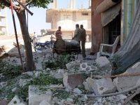 İdlib'teki hava saldırıları şiddetlendi