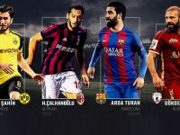 Milli futbolcular Avrupa'nın dört bir yanında top koşturuyor