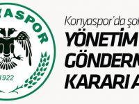 Konyaspor'da şok ayrılık!