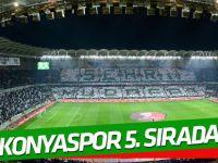 Konyaspor Passolig'de 5. sırada