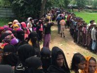 Bangladeş'teki kamplar görüntülendi