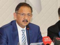 Bakan Özhaseki: 'Kentsel dönüşümde seferberlik başlatıyoruz'