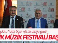 Mistik Müzik Festivali Başlıyor
