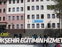 """Akyürek: """"Büyükşehir Her Zaman Eğitimin Hizmetinde"""""""