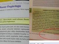 Ders kitaplarında FETÖ dili ve argümanları...