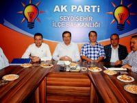 Milletvekili Şeker'in Seydişehir ziyareti