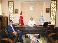 Konya İl Emniyet Müdürü Yaman, Beyşehir Belediyesi'ni ziyaret etti