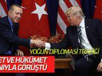 Cumhurbaşkanı Erdoğan, Newtork'ta 13 devlet başkanıyla görüştü