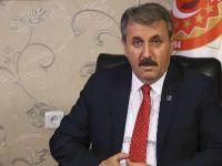 BBP Genel Başkanı Destici: Bütün milletvekillerini tezkereye 'evet' demeye çağırıyoruz