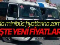Konya'da minibüs fiyatlarına zam yapıldı