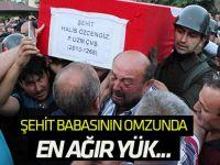 Şehit Halis Özcengiz Akören'de toprağa verildi