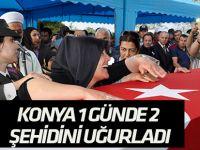 Şehit Halim Ünal,Tuzlukçu'da son yolculuğuna uğurlandı
