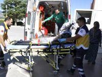 İkinci Kattan Düşen Çocuk Yaralandı