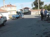 Kulu'da trafik kazası: 2 yaralı