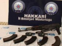 Hakkari ve Erzurum'da teröristlerin inlerinde silah ve mühimmat ele geçirildi